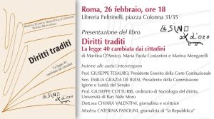 Diritti traditi Roma